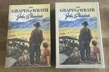 THE GRAPES OF WRATH JOHN STEINBECK FIRST EDITION LIBRARY REPLICA IN SLIPCASE VF