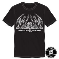 Dungeons & Dragons D-20 Mens Tee T-Shirt Officially Licensed AD&D D&D D20 Dice