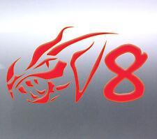 V8 Dragon Tribal fire ford holden 200x100 mm Vinyl Car Sticker Australian made