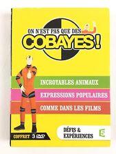 ON N'EST PAS QUE DES COBAYES Coffret DVD incroyables animaux comme dans les film