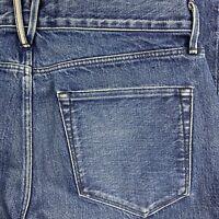 "3x1 Womens Straight Crop Fringe Jean in Lima Size 28 32x24 +4"" Hem"