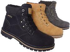 Winter Herren Stiefel Schuhe Boots Warmfutter Gr.41 - 46 Art.-Nr. 6196