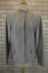 Talbots Womens Blazer Suit Jacket Size 10 Coat Dress Silk Blend