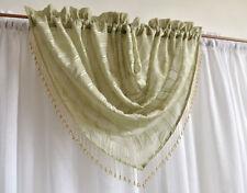 Unbranded Beaded Sheer Window Curtains