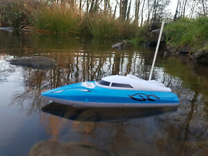 HQ Radio Remote Control Racing Speed Boat RC Boat Fast Speed 12km/h ( NEW BOXED)