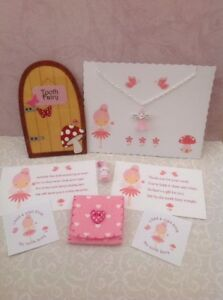 Tooth Fairy Kit, Fairy Door, Fairy Dust, Fairy Necklace, Stickers, Fairy Letters