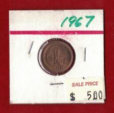 1967 Australia One Cent Unc