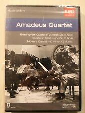 MOZART - Amadeus Quartet (EMI Classics) - DVD - Brand New