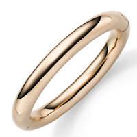 10mm Armreif Armband oval 61x51,5mm aus 585 Gold Rotgold Armschmuck Damen