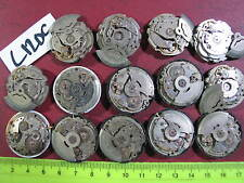 - 14pc VINTAGE SEIKO Automatic MOVEMENT Gents 6309 7009  Parts Watch AsIs