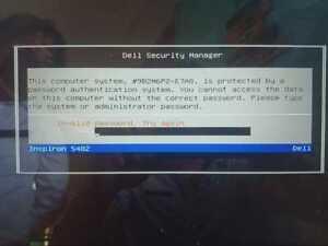 Unlock bios password Dell Precision 5540,Dell XPS 9570,DELL XPS 13 9360,E7A8