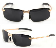 HD Polarized Sunglasses Mens Outdoor Sports UV400 Eyewear Driving Pilot Glasses