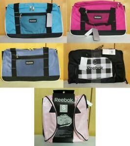 "Reebok Small Duffle Bag 20"" Duffle NEW Choice of Color"