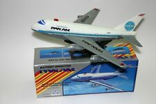 Vintage Rare Pan Am Jet Air Plane Toy Boeing Battery Operated