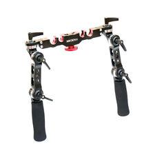 Shootvilla Universal Rosette 15mm/19mm gripped Handle Set Arri style lock grip