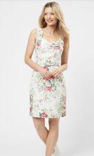 REVIEW Yvette Floral Shift Dress VINTAGE LINEN Sweetheart Neck RRP$279 BNWT s8