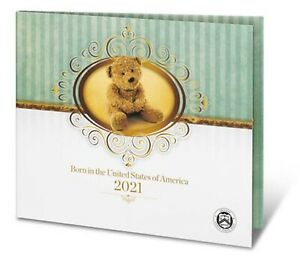 2021 S US MINT BIRTH SET (21RD) BIRTHDAY GIFT 5 COIN PROOF SET Official Issue