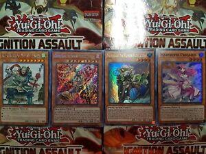 Yu-Gi-Oh Ignition Assault Rare, Secret, Super & Ultra Rare - YOU PICK FROM LIST!