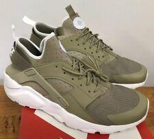 save off aa21a b4f9a Nike Air Huarache Run Ultra Khaki Pale Grey White Sz 13 NIB 819685-200