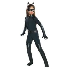 The Dark Knight Rises Deluxe Catwoman Child Halloween Costume Size Small 4-6x