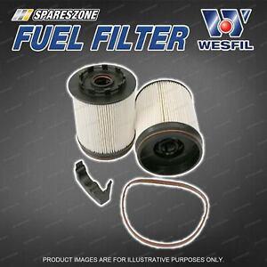 Wesfil Diesel Fuel Filter for Ford Ranger TD PX 2.0L 4Cyl Turbo Diesel 09/18-on
