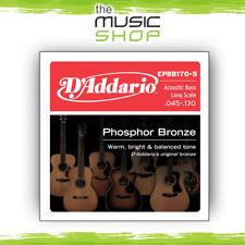 D'Addario Phosphor Bronze 5-String Acoustic Bass Guitar Strings - EPBB170-5