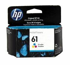 HP 61 Tri-Color Ink Cartridge CH562WN Genuine New