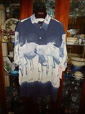 Jams World FAB PATTERN XXL FLAMINGO  New NWT Hawaiian Shirt  OOP