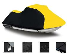"YELLOW Tiger Shark TS1000R 1998 118"" Jet Ski PWC Cover 2 Seater"