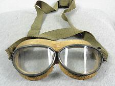 RARE VINTAGE WW2 GERMAN LUFTWAFFE MODEL 295 PILOT AVIATOR SAFETY GLASSES GOGGLES