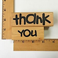 EK Success Image Tree Rubber Stamps - Thank You  - NEW