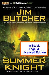 Summer Knight  Audio -  Jim Butcher - Dresden Files CD