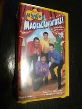 Wiggles Magical Adventure!  A Wiggly Movie Tape New Sealed Unopened The VHS