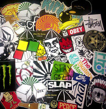 10 Random Snowboard Decal Stickers Pack Lot OwnTheAvenue, Dope, Stickerbomb #M94