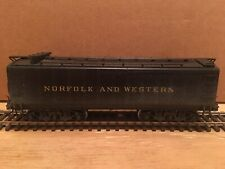 HO NWSL Northwest Short Line Brass Norfolk & Western Auxiliary Water Tender