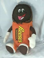 Reeses Peanut Butter Cups Plush Doll Orange Brown Candy 13 inches 2013 FS EUC