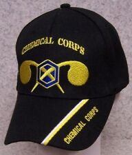 Embroidered Baseball Cap Military Army Chemical Corps NEW 1 hat size fits all