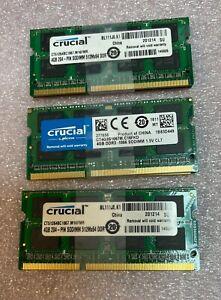 Crucial PC3-8500 DDR3 1066 204-Pin SODIMM Laptop Memory RAM 8GB Mac Kit