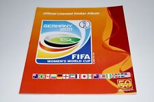 PANINI WM 2011 Germany Frauen WM Leeralbum NOT MINT Top/Rar Album