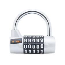 KATSU  Digital Pad Lock Professional 5 Digits Silver
