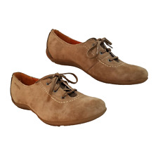 Merrell Rosella Lace Up Tan Coffee Bean Womens 7.5 Brown Suede Sneakers Shoes
