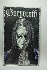 GORGOROTH          EMBROIDERED  PATCH