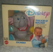 NEW IN PACKAGE- DISNEY TOUCH AND SOUND DUMBO PLUSH STUFFED ANIMAL , BABY TOY