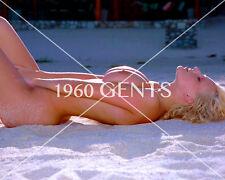 1990s NUDE 8X10 BUSTY BIG NIPPLES MICHELLE MARSH PHOTO FROM ORIGINAL NEG-MM2