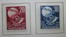 Timbres - ALLEMAGNE WURTEMBERG 1949 - Neuf * (voir photo)