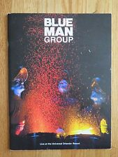 2007 BLUE MAN GROUP Live at the Universal Orlando Resort Concert Tour Program