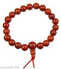 Bracelet Mala Tibétain - Jaspe Rouge