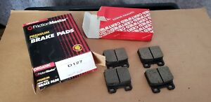 Fits Alfa Romeo Friction Master Organic Brake Pads D127 NOS