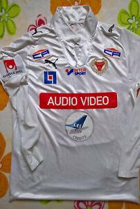 Kalmar FF (Sweden) 2009 MATCH WORN football shirt jersey soccer trikot maglia