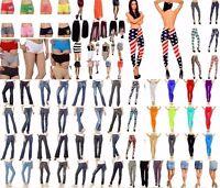 WHOLESALE LOTS 30 Pcs WOMEN Bottoms Jeans Pants Shorts Leggings Skirts S M L NEW